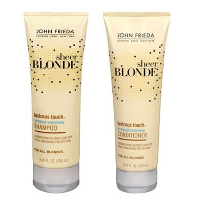 Imagem 1 do produto Kit Shampoo + Condicionador John Frieda Sheer Blonde Lustrous Touch Strengthening - Kit