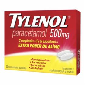 Tylenol Extra Poder - 500mg | 15 comprimidos