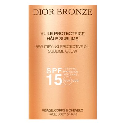 Imagem 2 do produto Bronzeador Dior Bronze Beautifying Protective Oil Sublime Glow SPF 15 - 125ml