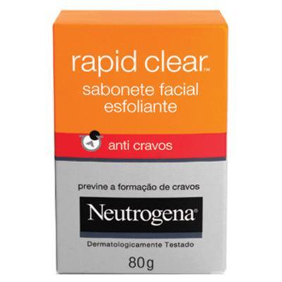 Deep Clean Rapid Clear Neutrogena - Sabonete Facial - 80g