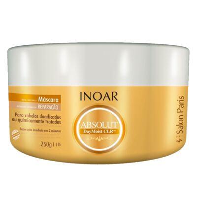 Imagem 2 do produto Kit Shampoo + Condicionador + Máscara Reparadora Inoar Absolut Daymoist CLR - Kit