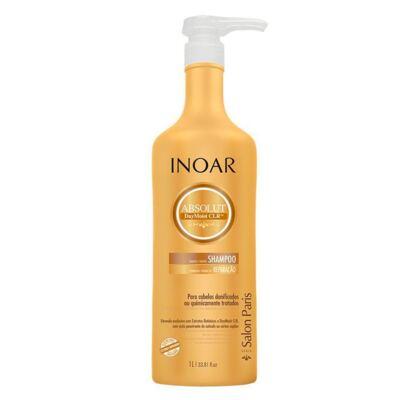 Imagem 4 do produto Kit Shampoo + Condicionador + Máscara Reparadora Inoar Absolut Daymoist CLR - Kit