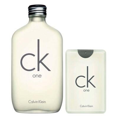 Ck One Calvin Klein -  Unissex - Eau de Toilette - Kits de Perfumes - Kit