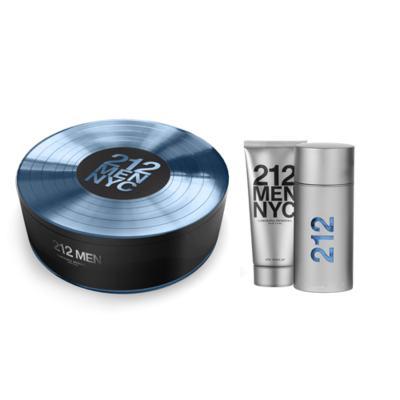 Imagem 1 do produto 212 NYC Men Carolina Herrera - Masculino - Eau de Toilette - Perfume + Loção Pós Barba - Kit