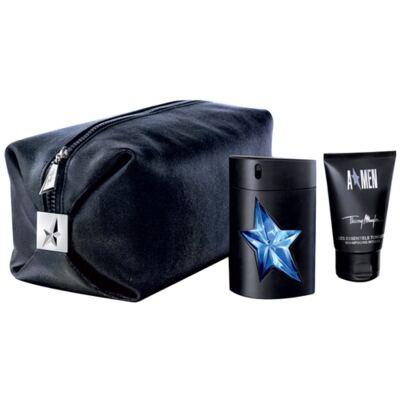 Imagem 1 do produto A Men Rubber Mugler - Masculino - Eau de Toilette - Perfume + Loção Perfumada - Kit