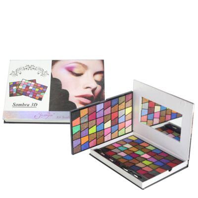 Imagem 1 do produto Jasmyne 96 Itens Jasmyne - Estojo de Maquiagem - estojo