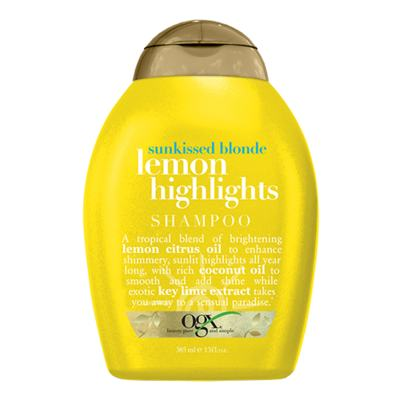 Organix Lemon Highlights Shampoo Organix - Shampoo Iluminador - 385ml
