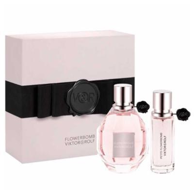 Imagem 1 do produto Flowerbomb Viktor & Rolf - Feminino - Eau de Parfum - Perfume + Miniatura - Kit