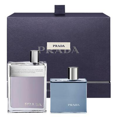 Imagem 1 do produto Prada Man Prada - Masculino - Eau de Toilette - Perfume + Gel de Banho - Kit