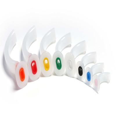 Imagem 1 do produto CANULA OROFARINGEA DE GUEDEL MD - Nº 6 - 110MM - Laranja