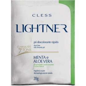 Pó Descolorante Cless Lightner - Menta e Aloe Vera | 20g