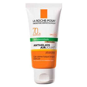 Protetor Solar Facial com Cor La Roche-Posay - Anthelios Airlicium Fps70 - Clara