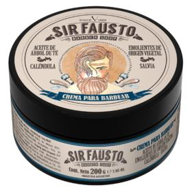 Creme de Barbear Sir Fausto - 200ml