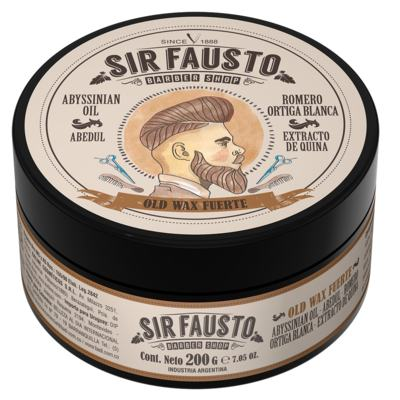 Pomada Forte para Cabelo Sir Fausto - Old Wax - 200g