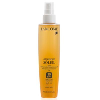 Imagem 1 do produto Óleo Bronzeador Lancôme Génifique Sôleil Body Oil Spf 10 - 200ml