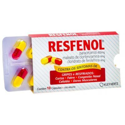 Resfenol 10 cápsulas