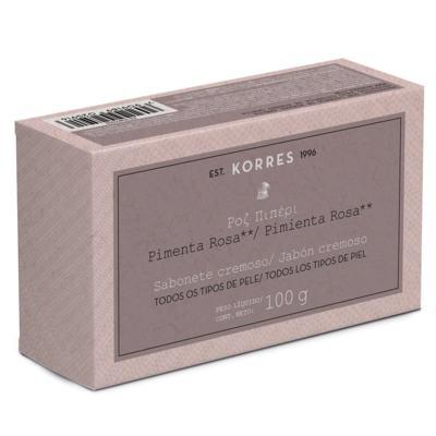 Imagem 1 do produto Pimenta Rosa Korres - Sabonete em Barra - 100g