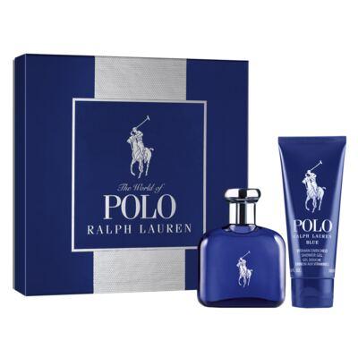 Imagem 1 do produto Polo Blue Ralph Lauren - Masculino - Eau de Toilette - Perfume + Gel de Banho - Kit