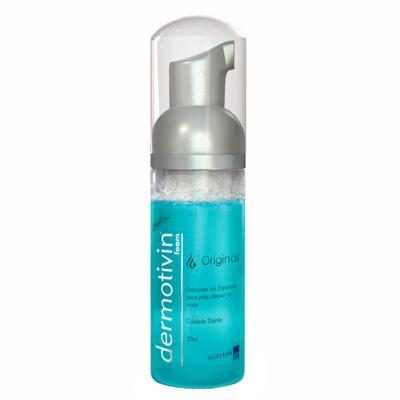 Dermotivin Original Espuma de Limpeza - Limpeza Facial para Pele Oleosa - 50ml