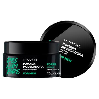 Lowell For Men Pomada Modeladora Forte - 70g