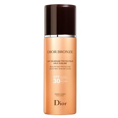 Imagem 1 do produto Protetor Solar Dior Bronze Beautifying Protective Milky Mist Sublime Glow SPF 30 - 125ml