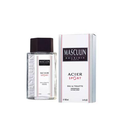 Masculin Acier Sport Bourjois - Perfume Masculino - Eau de Toilette - 100ml