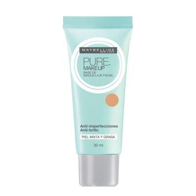 Imagem 1 do produto Pure Makeup Maybelline - Base Facial - Natural
