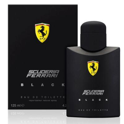 Imagem 12 do produto Ferrari Black Eau de Toilette Perfume Masculino 125ml -