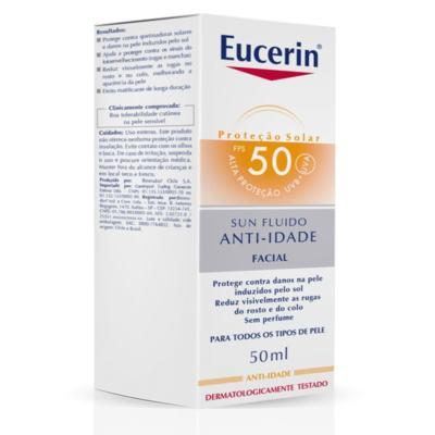 Imagem 4 do produto Protetor Solar Facial Eucerin - Sun Fluido Anti-Idade FPS 50 - 50ml