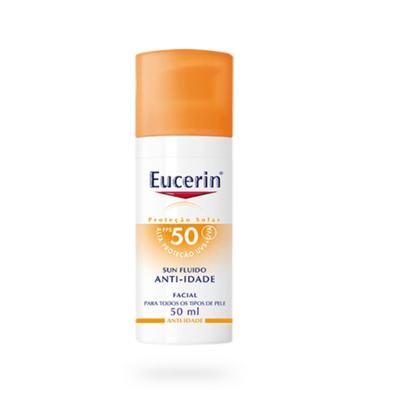 Imagem 6 do produto Protetor Solar Facial Eucerin - Sun Fluido Anti-Idade FPS 50 - 50ml