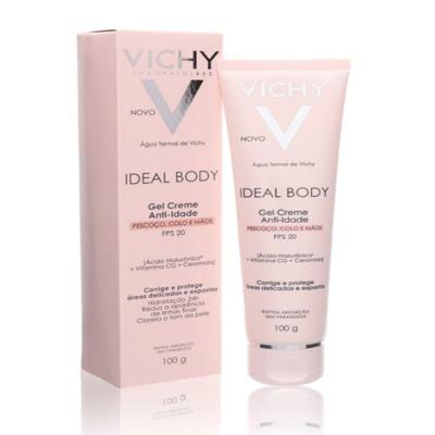 Imagem 4 do produto Vichy Ideal Body Gel Creme Antiidade FPS 20 - Vichy Ideal Body Gel Creme Antiidade FPS 20 100g