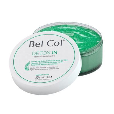 Imagem 1 do produto Bel Col Detox In Mascara Facial Safira Hidratante - Bel Col Detox In Mascara Facial Safira Hidratante 50g