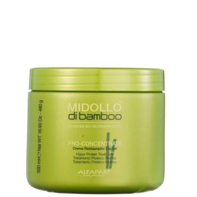 Imagem 4 do produto Alfaparf Midollo di Bamboo Pro-Concentrate Mascara - Alfaparf Midollo di Bamboo Pro-Concentrate Mascara 500ml