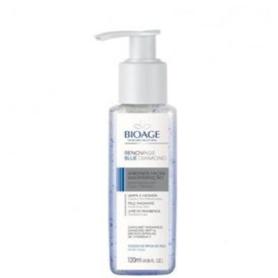 Imagem 2 do produto Sabonete Liquido Facial Bioage Renovage Blue Diamond - 120ml