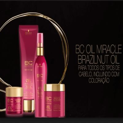 Imagem 2 do produto Schwarzkopf BC Bonacure Oil Miracle Brazilnut - Máscara de Tratamento - 500ml