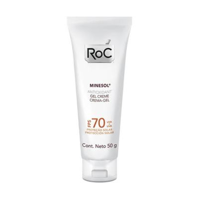 Roc Minesol Antioxidant Protetor Solar FPS 70