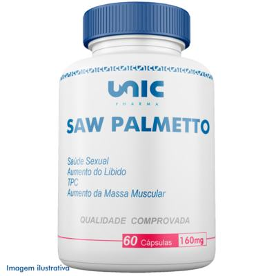 Saw palmetto 160mg - 60 Cápsulas