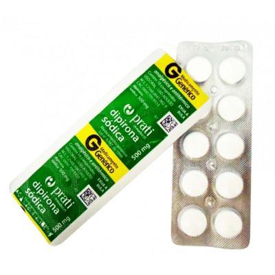 Dipirona Sódica - 500mg | blíster com 10 comprimidos