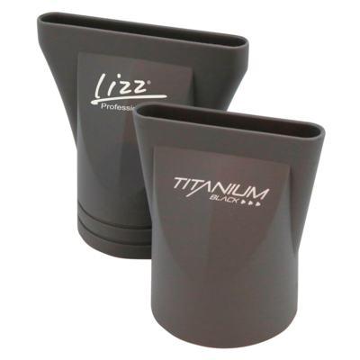 Imagem 1 do produto Secador Lizz Professional - Titanium Black 2150W - 127V