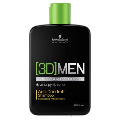 Schwarzkopf 3D Men - Shampoo Anticaspa - 250ml
