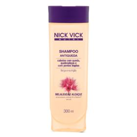 Nick & Vick Nutri-Hair Antiqueda - Shampoo Antiqueda - 300ml
