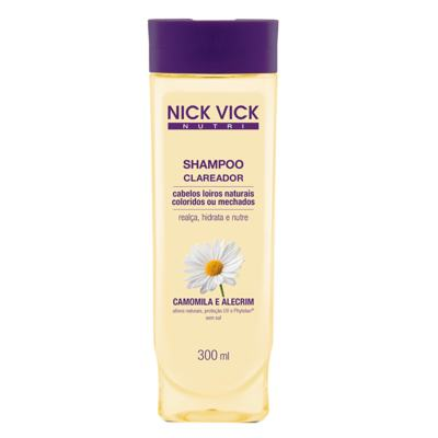Nick & Vick Nutri-Hair Clareador - Shampoo - 300ml