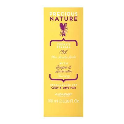 Imagem 3 do produto Alfaparf Precious Nature Curly Wavy Hair Oil Leave-in - Alfaparf Precious Nature Curly Wavy Hair Oil Leave-in 100ml