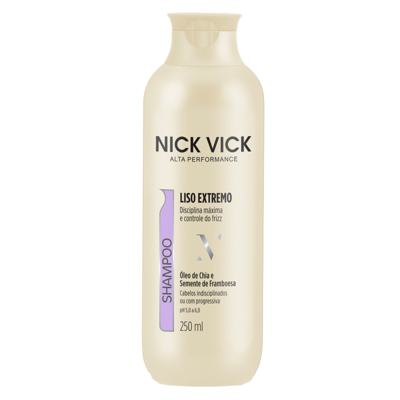 Nick & Vick Pro-Hair Liso Extremo - Shampoo - 250ml