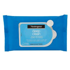 Lenços de Limpeza Facial Neutrogena Deep Clean - 7 lenços