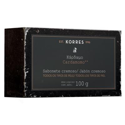 Imagem 1 do produto Cardamomo Korres - Sabonete em Barra - 100g