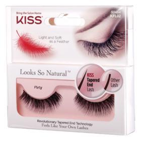 Cílios Postiços Kiss NY - Looks So Natural - Pack Unitário