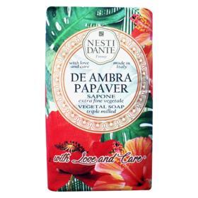 Sabonete em Barra Nesti Dante -  With Love and Care Ambar e Papoula - 250g