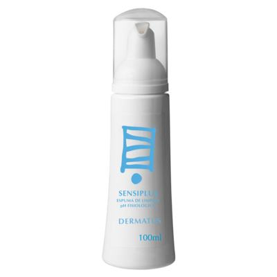 Imagem 1 do produto Espuma de Limpeza Dermatus Sensiplus - 100ml