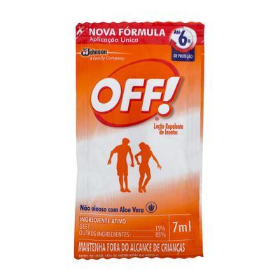 Repelente Off! Family Sachê 7ml